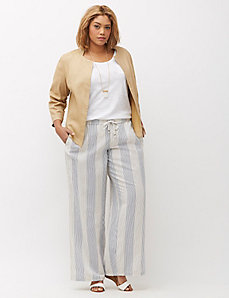 Flyaway Stretch Linen Jacket