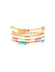 Multi-color ring stack