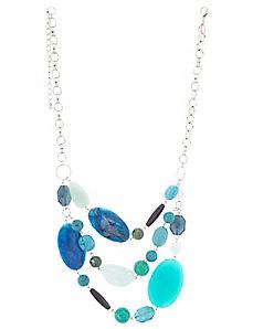 Turquoise Multi-Stone Necklace