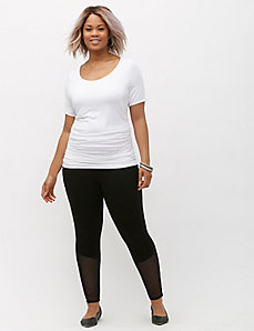 Meridan Ankle-Zip Leggings by Lysse