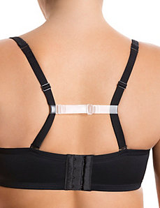 Clear bra-strap holder