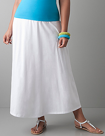 Plus size Knit maxi skirt by Lane Bryant