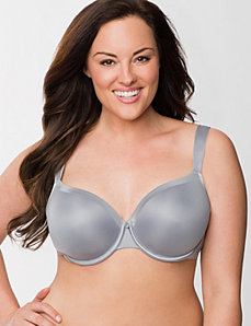 Lightly lined French full coverage bra