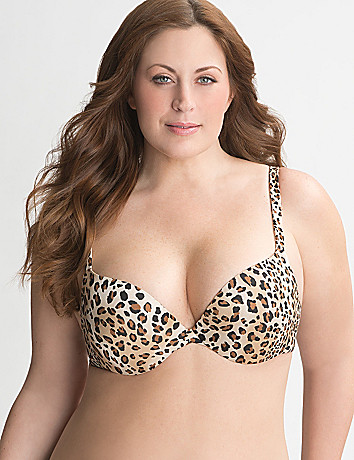 Full figure Cushion Comfort demi bra by Cacique