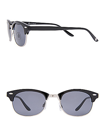 Cat eye frame sunglasses by Lane Bryant