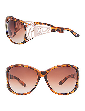 Tortoise shell sunglasses by Lane Bryant