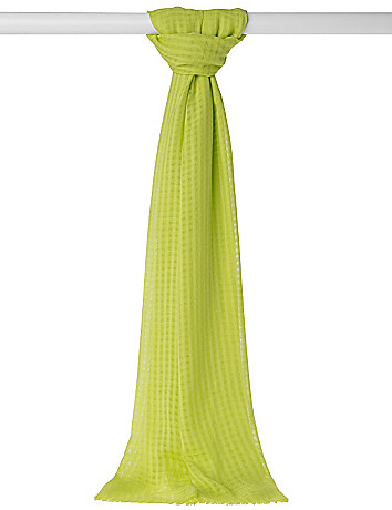Basket weave scarf by Lane Bryant