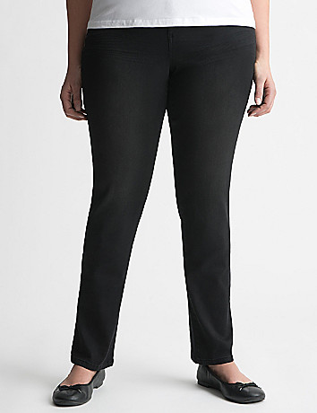Ultimate Stretch gray sateen skinny jean