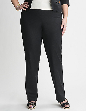 Casual Linen Pant by Lane Bryant