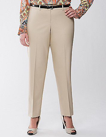 Lane Collection double weave ankle pant