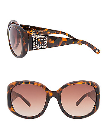 Temple medallion sunglasses