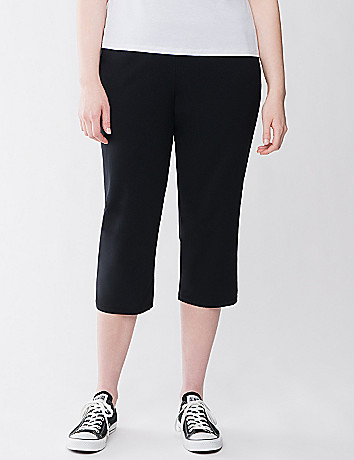 Relaxed fit active capri by Lane Bryant