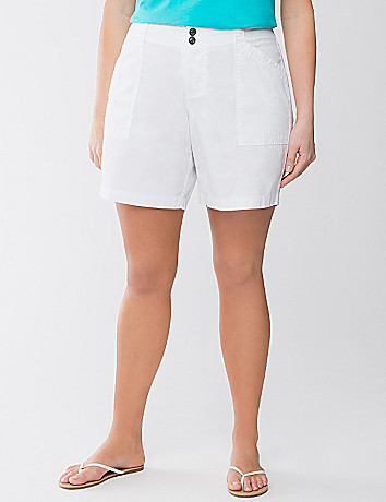 Full Figure Casual Shorts by Lane Bryant