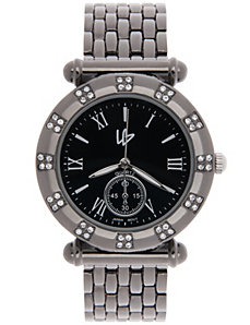 Rhinestone studded watch by Lane Bryant