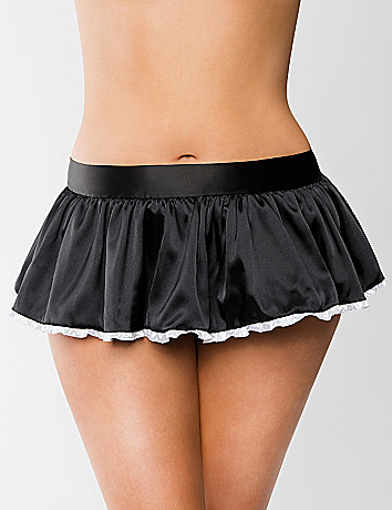 French maid play skirt