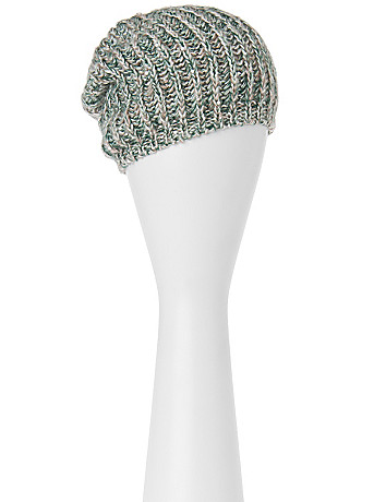 Marled beanie with sequin