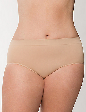 Plus size seamless hipster panty