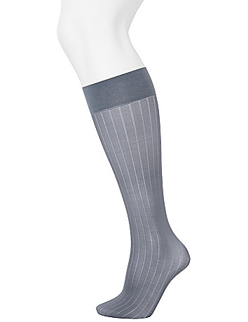 Striped & solid trouser sock 2-pack
