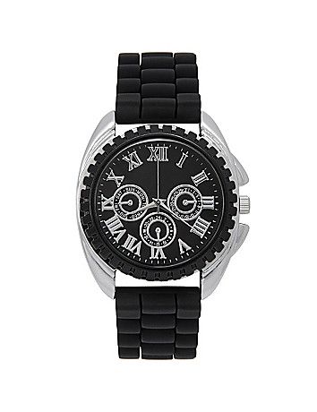 Roman numeral active watch by Lane Bryant