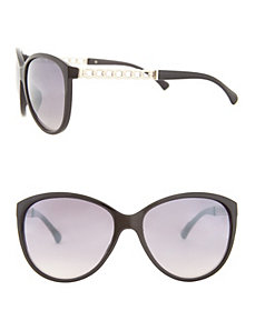 Chain accent sunglasses