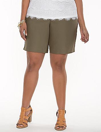 Double weave dress short
