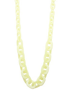 Acrylic link necklace by Lane Bryant
