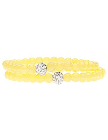 Glass bead bracelet duo by Lane Bryant