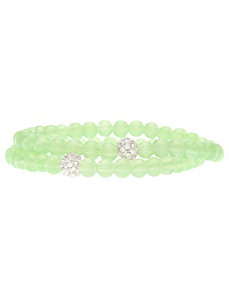 Glass bead bracelet duo by Lane Bryant