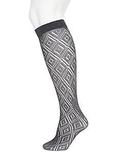 Lace boot socks