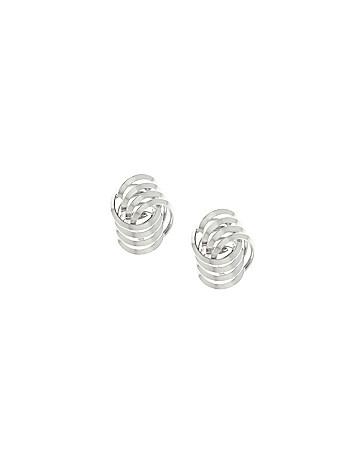 Link knot earrings by Lane Bryant