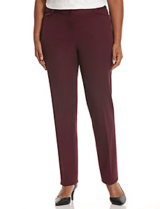 Lena cotton Smart Stretch straight leg pant