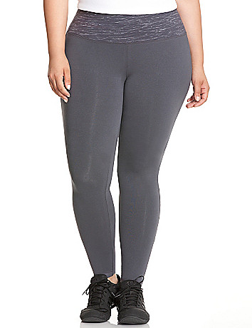 Space dye active legging