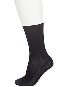 Diamond & solid crew socks 2-pack