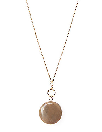 Stone pendant necklace by Lane Bryant