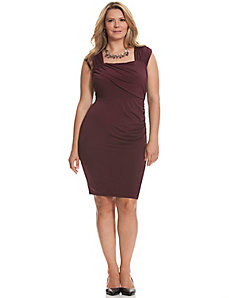 Control Tech slimming ruched dress