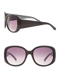 Printed arm sunglasses