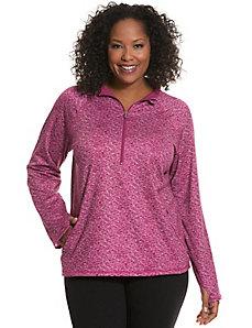 Active half-zip pullover