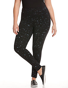 Galaxy print active legging