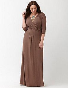 Desert Rain maxi dress by Kiyonna