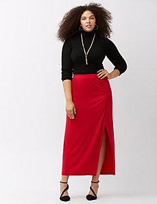 Simply Chic matte Jersey maxi skirt