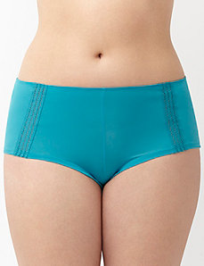 Dazzler boyshort panty with sporty trim