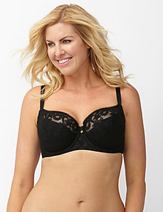 Lace French full coverage bra