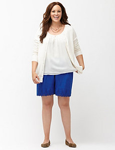 Crochet trim Soft Short
