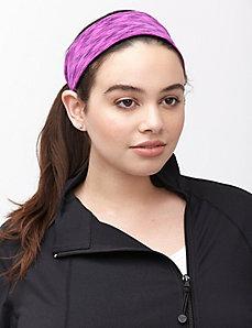Space dye wicking headband