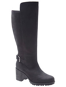 Clarissa suede heeled boot