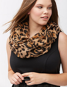 Cheetah eternity scarf