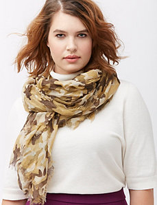 Camo oblong scarf