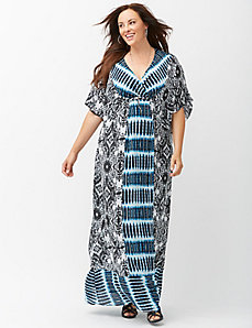Bohemian Breeze maxi dress by Kiyonna