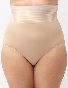 High waist seamless brief panty