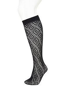 Lacy romance boot sock